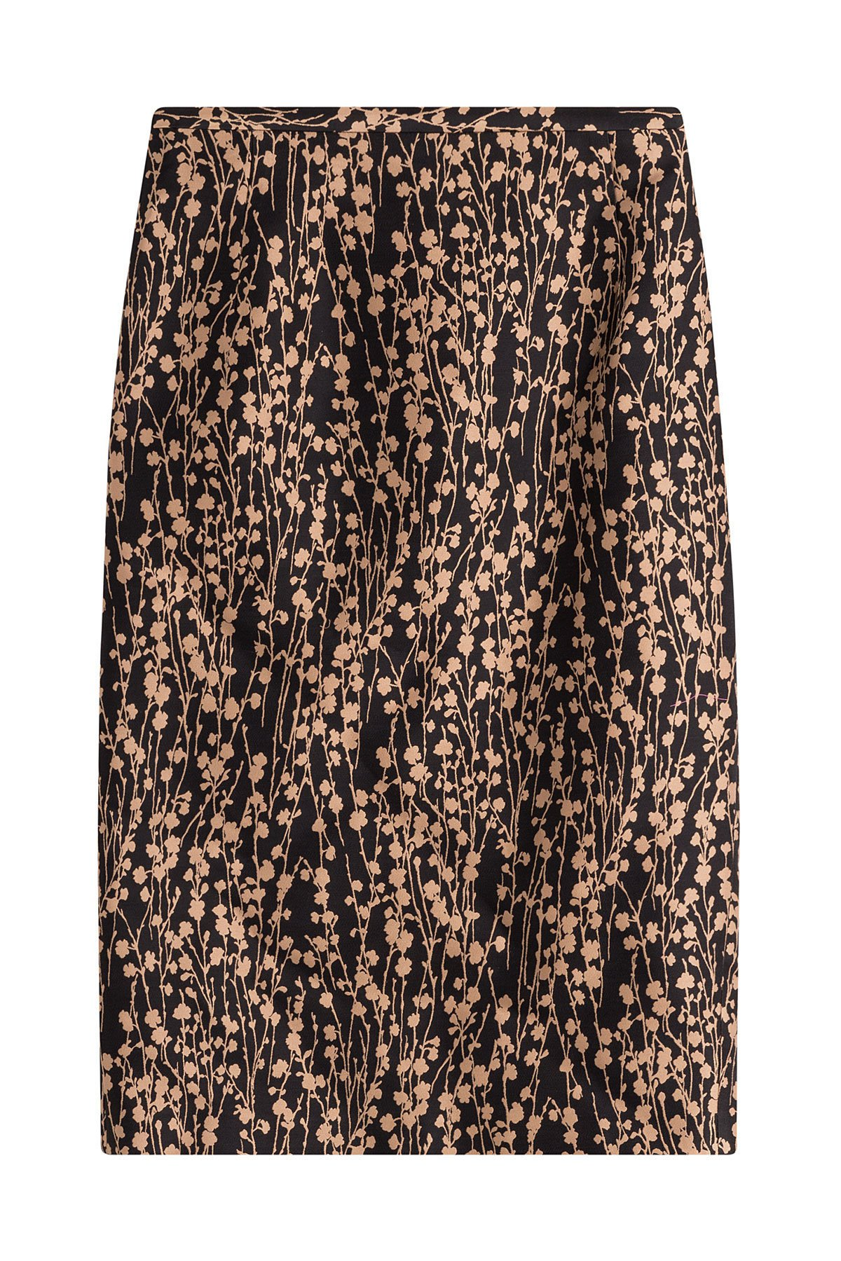 Printed Cotton Skirt with Silk Gr. UK 4