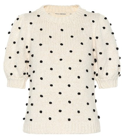 Bettine embroidered cotton sweater