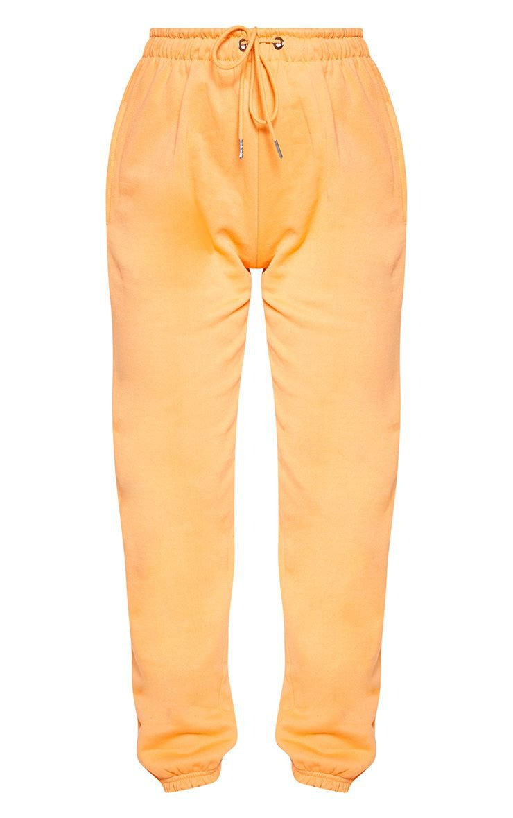 Peach Casual Jogger | Trousers | PrettyLittleThing USA