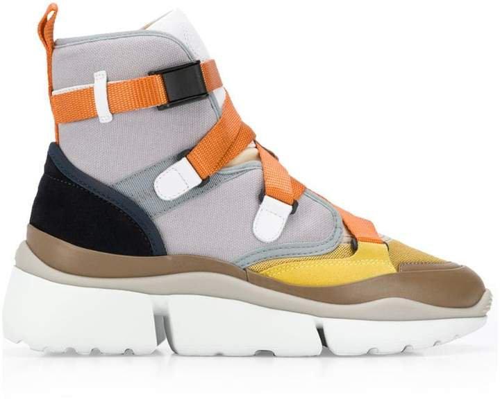 Sonnie hi-top sneakers
