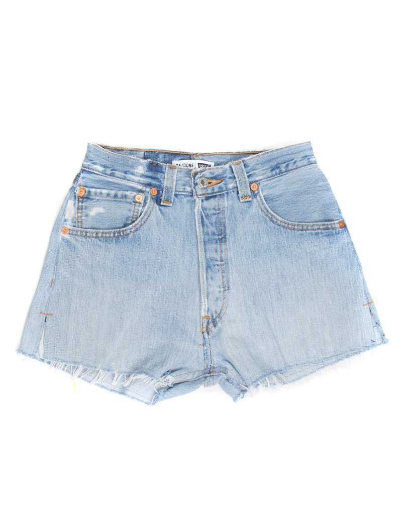 No. 23HRS1146138 | High Rise Short | RE/DONE Levi's Denim