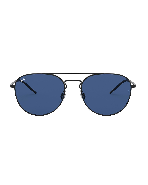 Ray-Ban Solid Metal Aviator Sunglasses