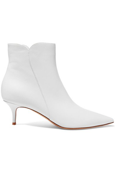 Gianvito Rossi | Levy 55 leather ankle boots | NET-A-PORTER.COM