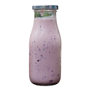 Blueberry and Pomegranate Tea Smoothie