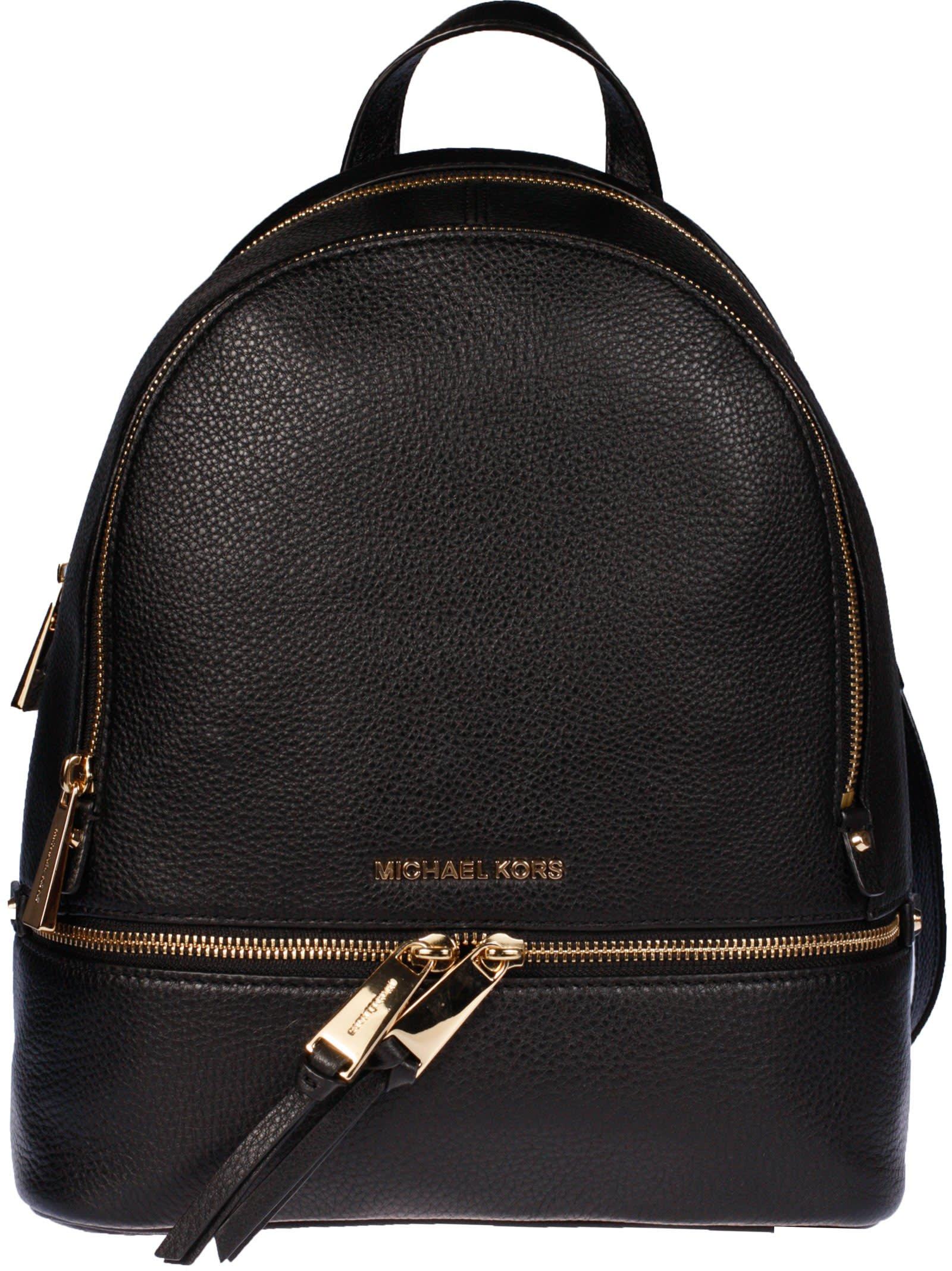 Michael Kors Rhea Medium Zipped Backpack
