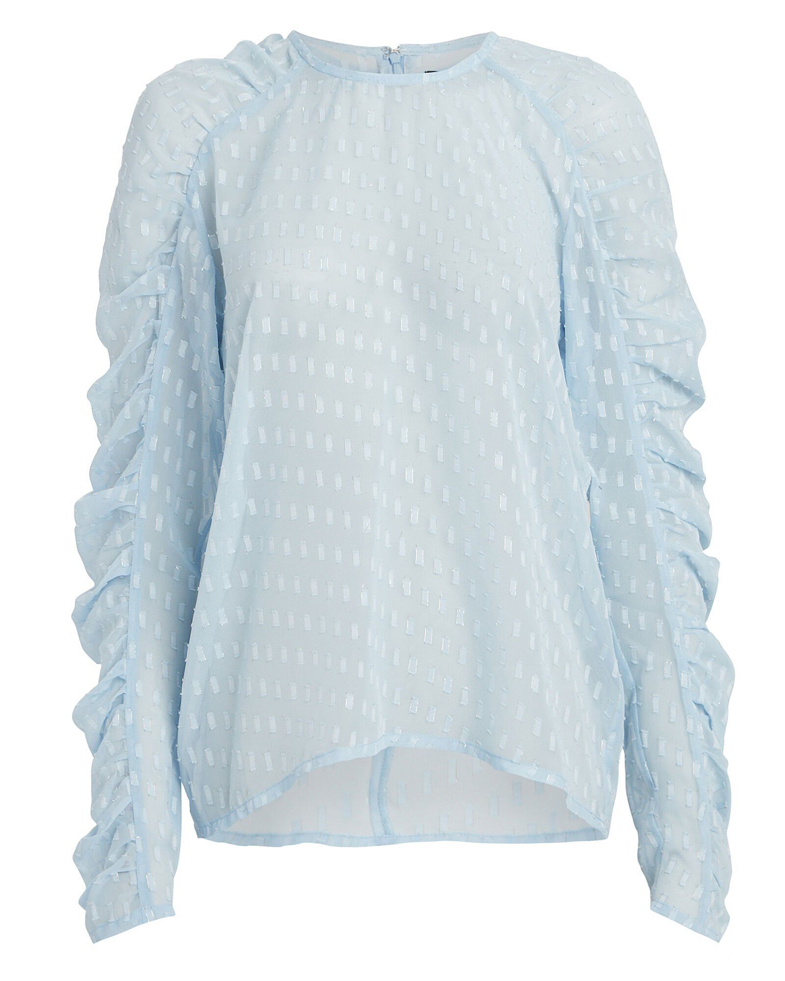 Puff Sleeve Georgette Blouse