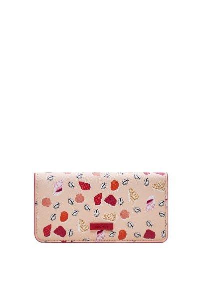 MANGO Seashell printed wallet
