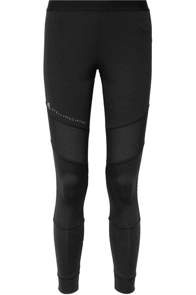 33d68babeef adidas by Stella McCartney | + Parley Essentials mesh-paneled Climalite  stretch leggings | NET