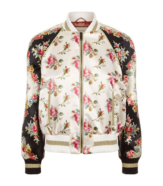 Gucci Guccification Bomber Jacket