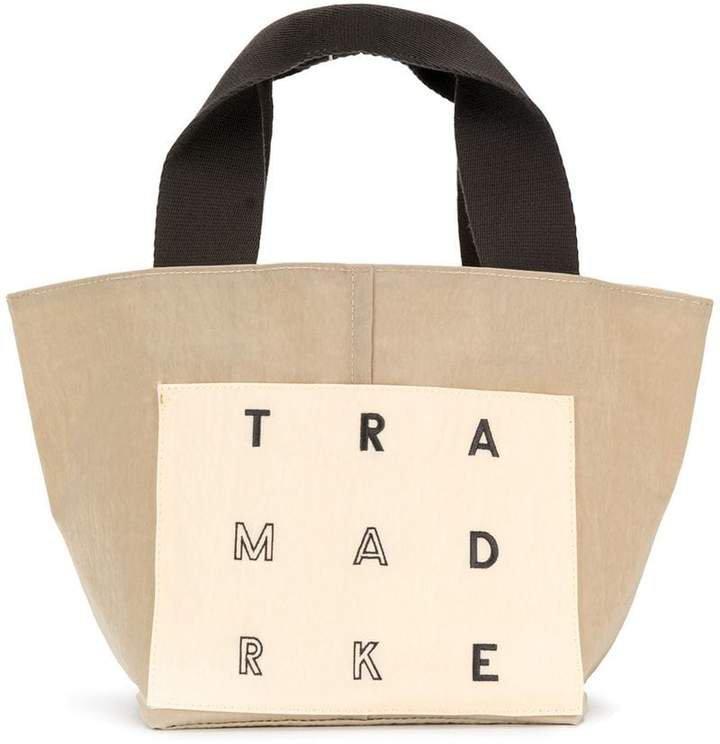 Trademark small reversible tote