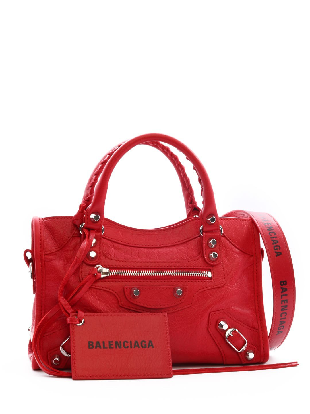Balenciaga Mini City Classic Bag Red