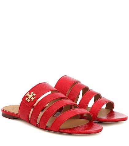 Kira leather sandals