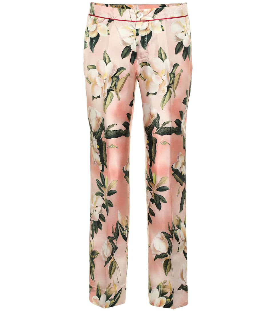 Ceo Floral Silk Pajama Pants - F.R.S For Restless Sleepers   mytheresa