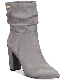 Chinese Laundry Rizza Slouch Dress Booties & Reviews - Boots - Shoes - Macy's
