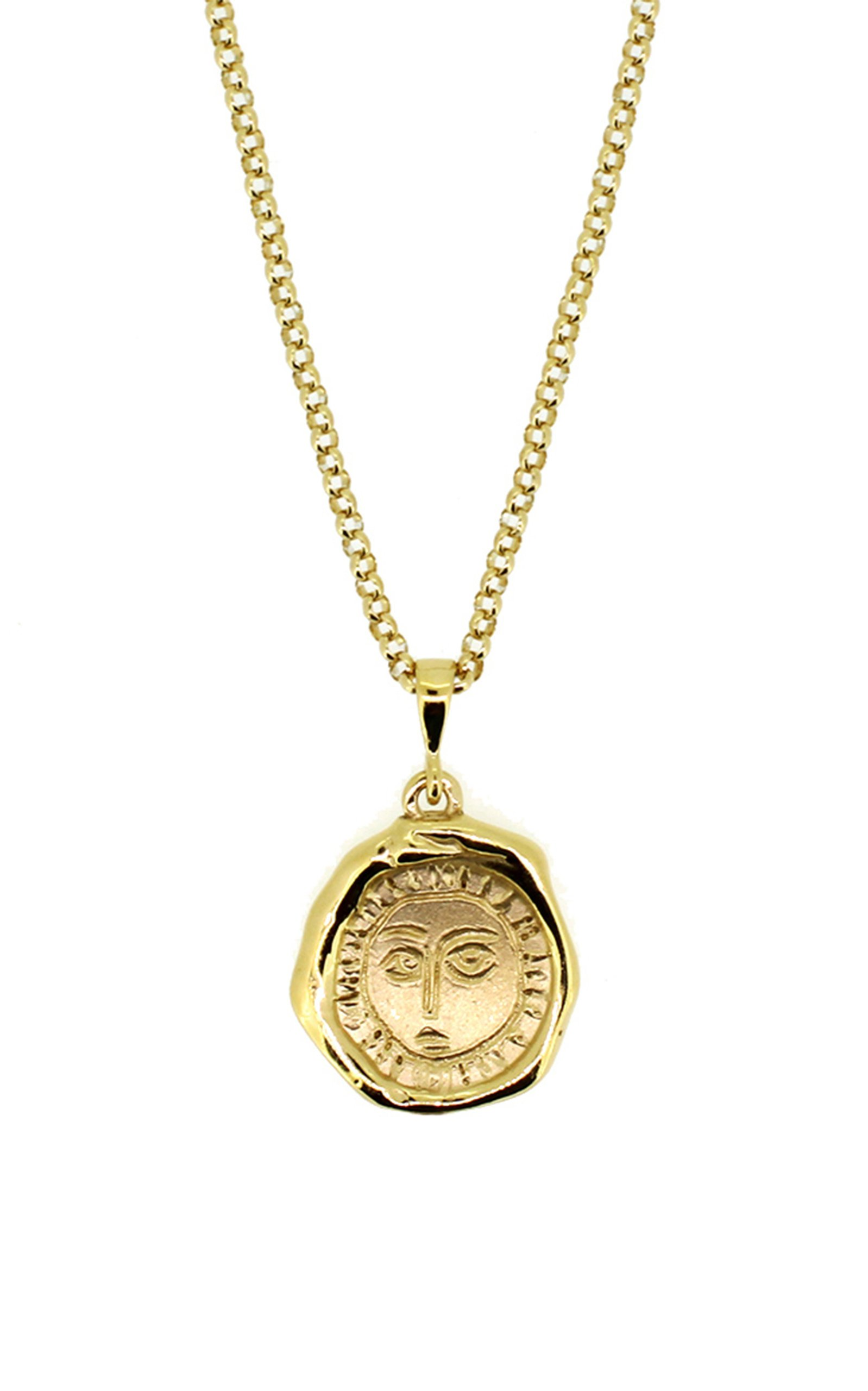 Holly Ryan Gold Picasso Necklace