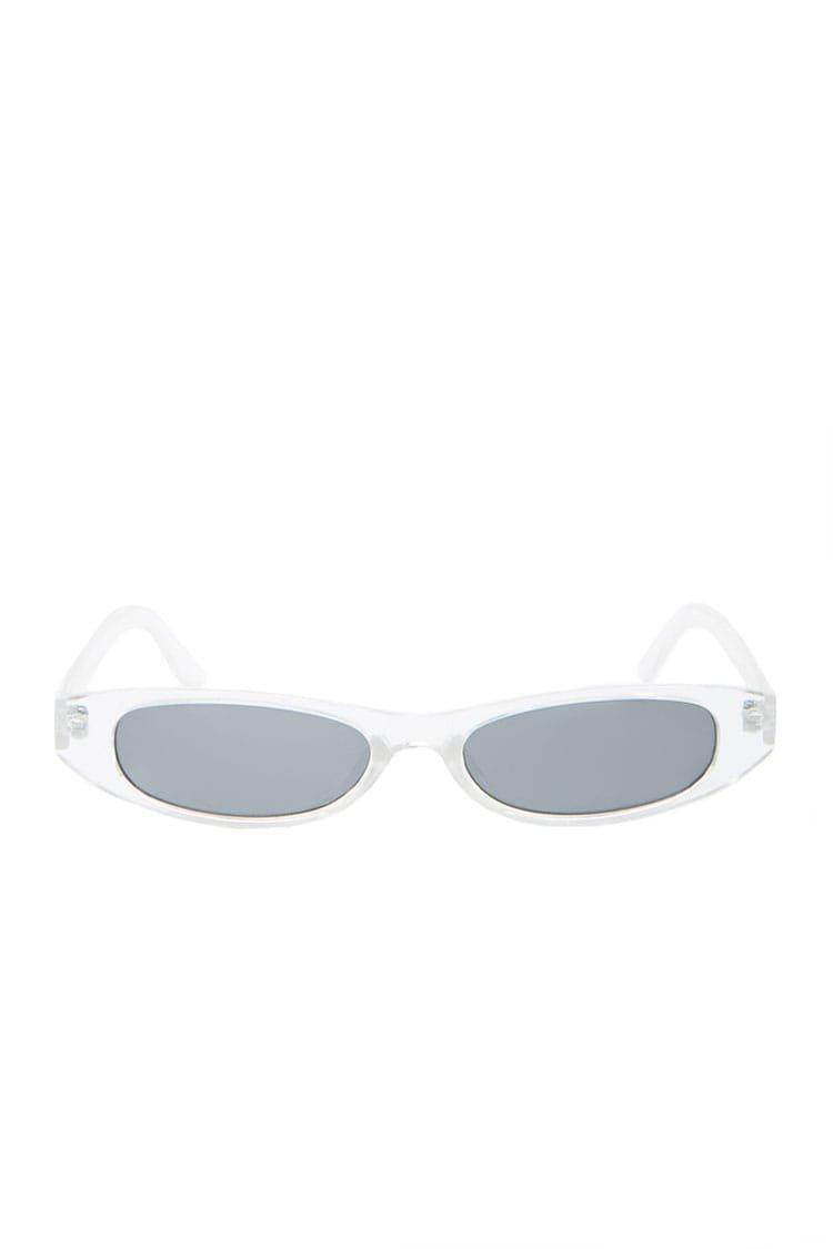 Plastic Rectangle Sunglasses | Forever 21