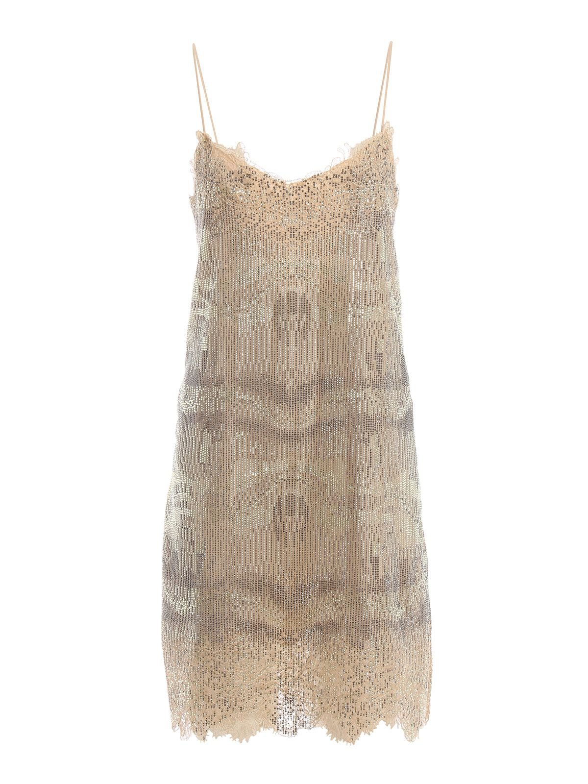 Ermanno Scervino Sequined Shift Dress
