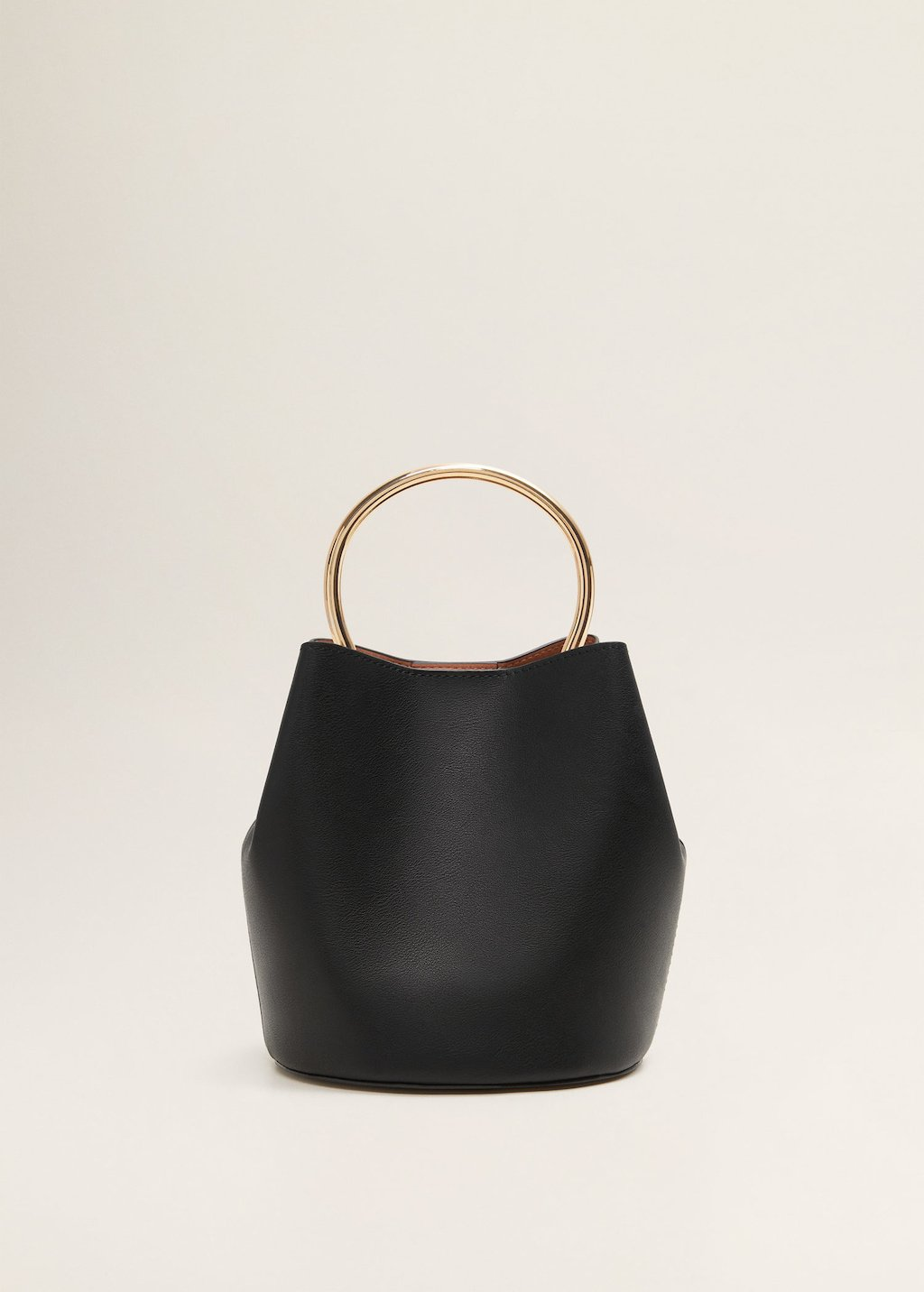 Metallic handle bag - Women | MANGO USA
