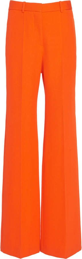 Wool Wide-Leg Trouser