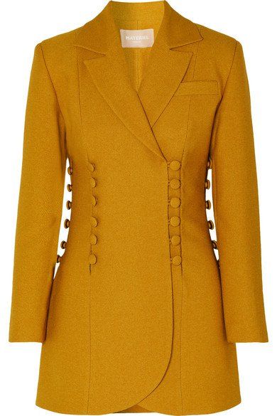 MATÉRIEL | Button-detailed twill blazer | NET-A-PORTER.COM