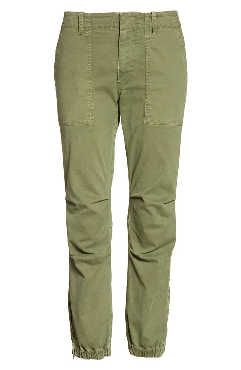 Nili Lotan French Crop Military Pants | Nordstrom
