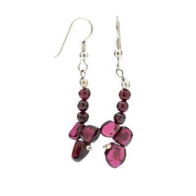 Garnet Gemstone Earrings | Mystic Self LLC
