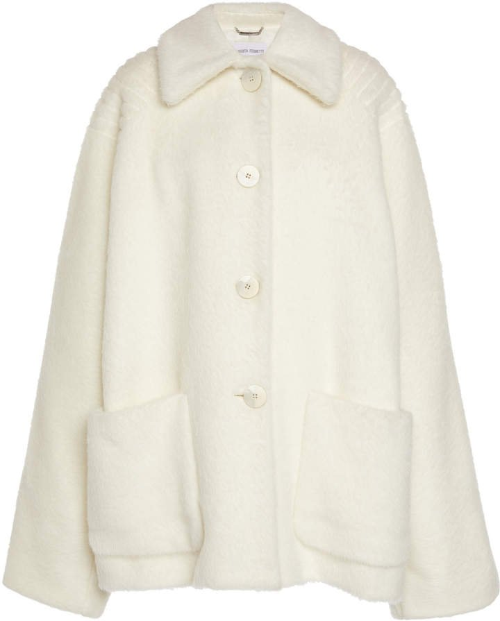 Oversized Alpaca-Wool Coat