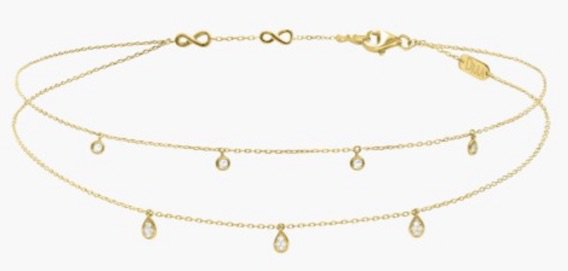 Yellow Gold Choker Necklace