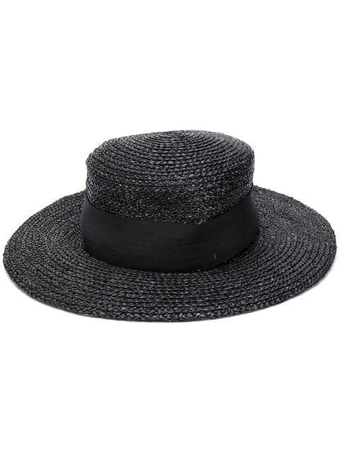 Chanel Vintage 1980's wide-brim Hat - Farfetch