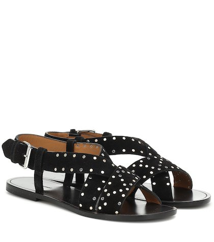 Jano studded suede sandals