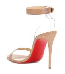 Jonatina 100 Leather Sandals | Christian Louboutin - mytheresa