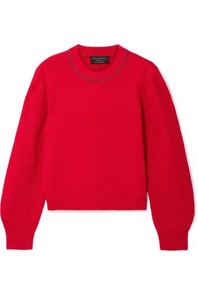 rag & bone | Yorke cashmere sweater | NET-A-PORTER.COM