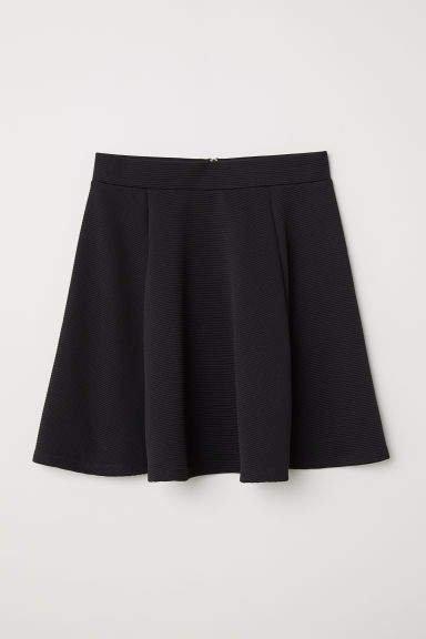 Circle Skirt - Black