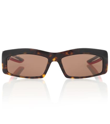 Hybrid rectangle sunglasses