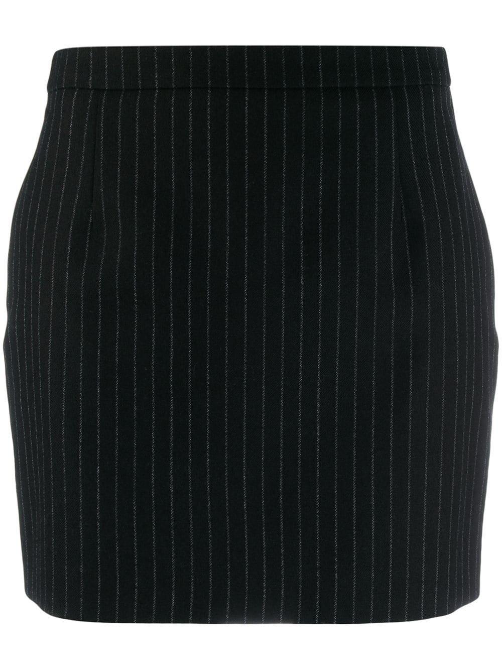 Saint Laurent Pinstriped Mini Skirt | Farfetch.com