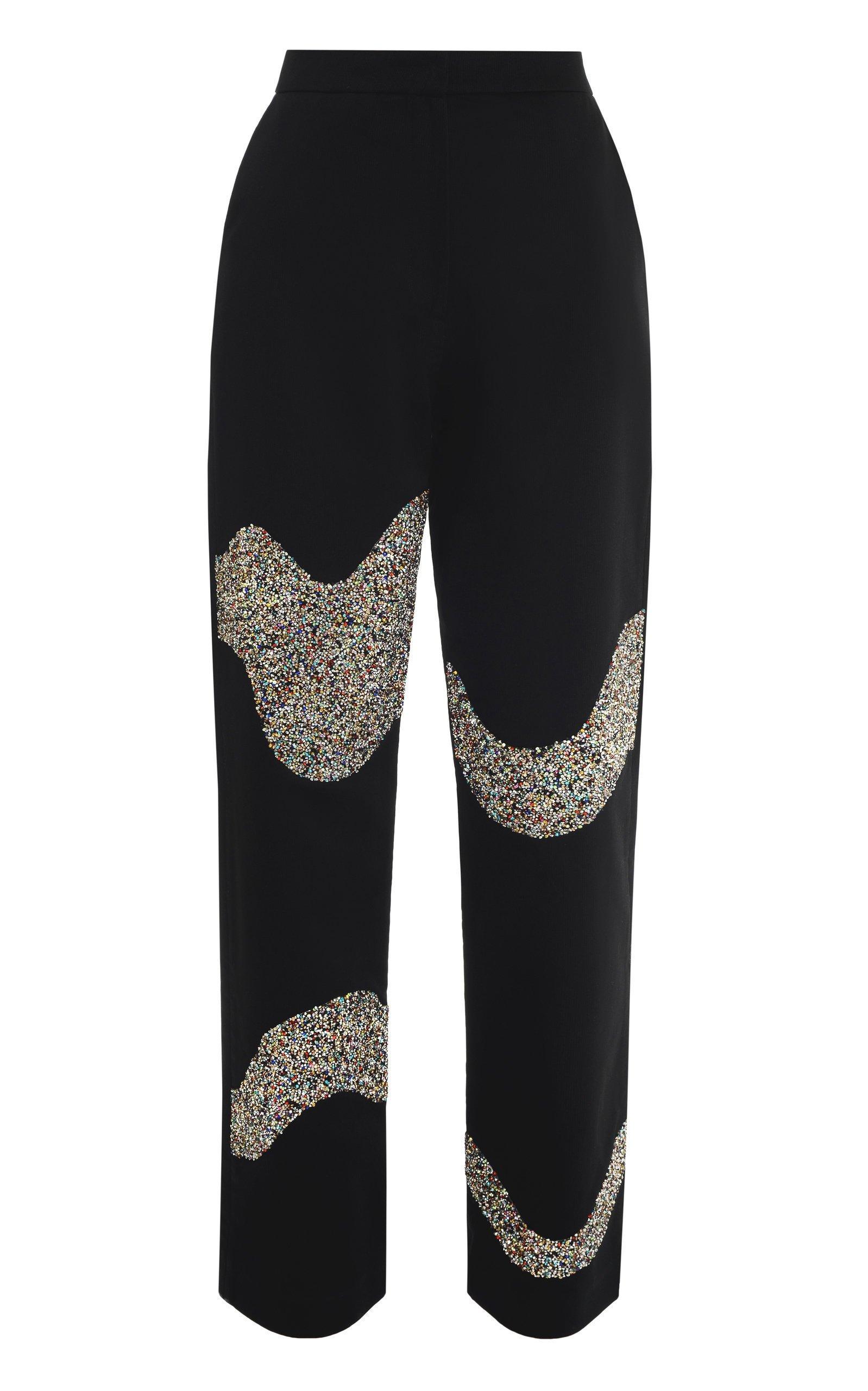 Lado Bokuchava Cotton Glitter Pants