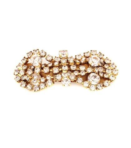 Exclusive to Mytheresa – Mia crystal hair clip