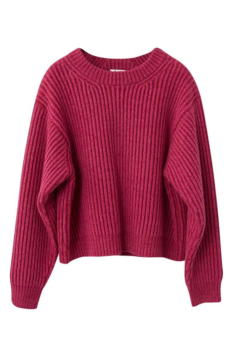 Acne Studios Ribbed Oversized Sweater | Nordstrom