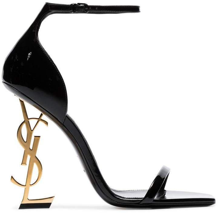 black opyum 110 patent leather sandals