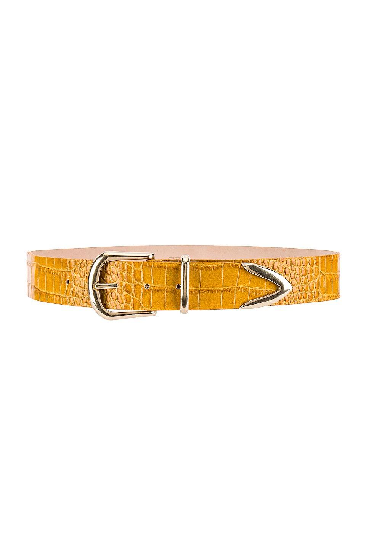 Quinn Croco Belt