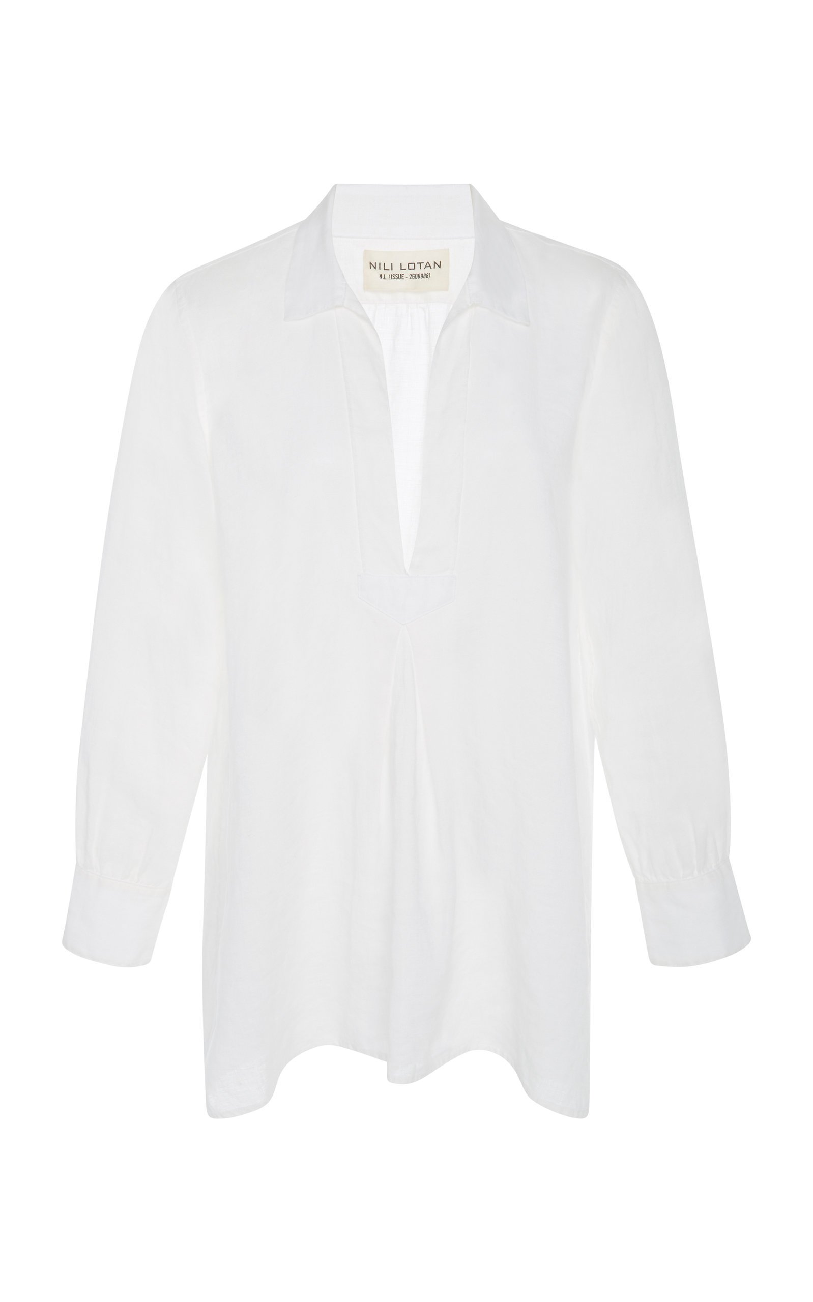 NILI LOTAN Emma Linen Shirt