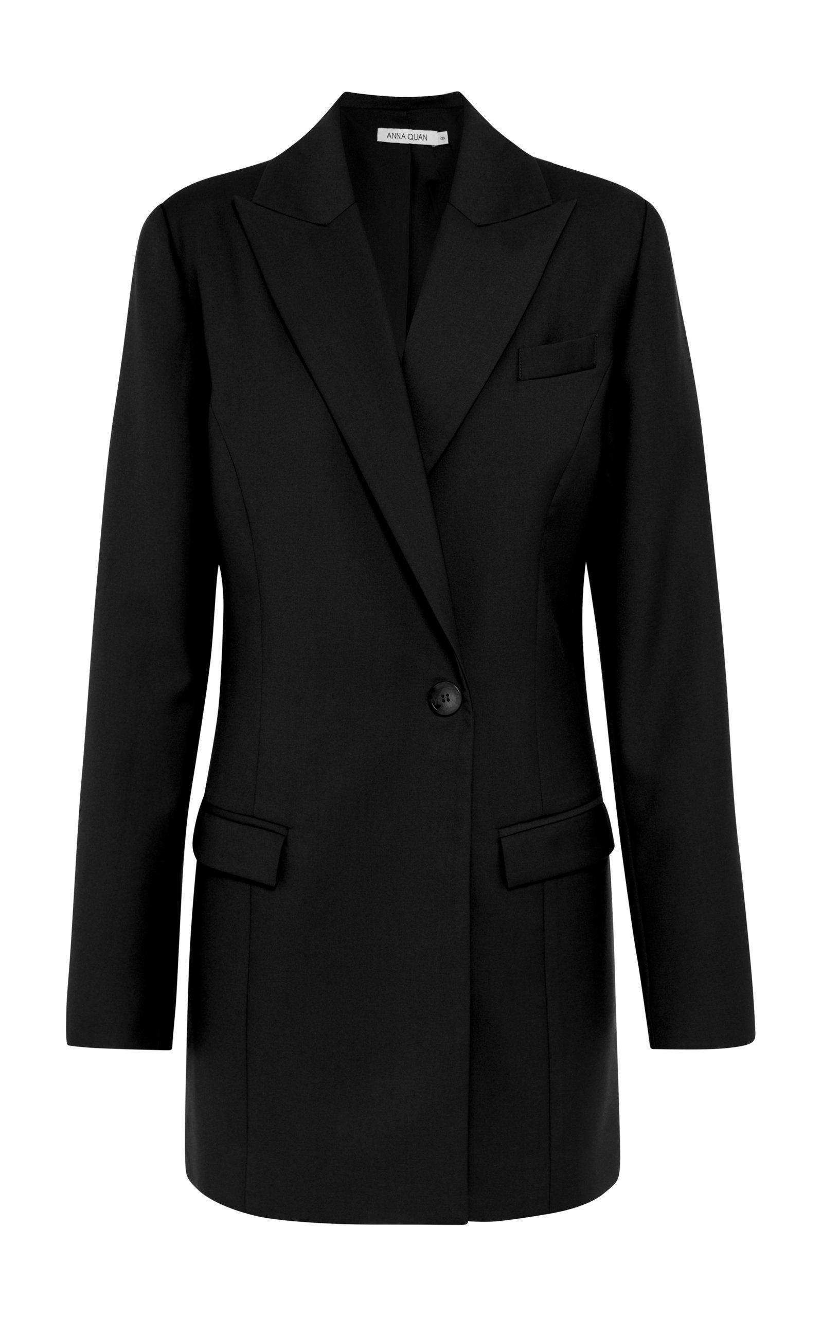 Anna Quan Sienna Wool Midnight Jacket