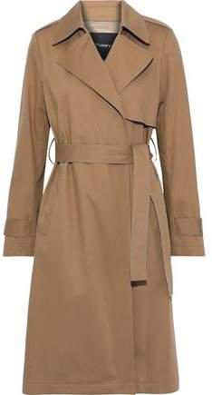 Oaklane Cotton-blend Gabardine Trench Coat