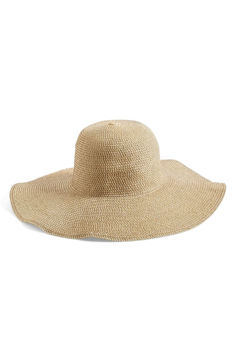 BP. Floppy Straw Look Hat | Nordstrom