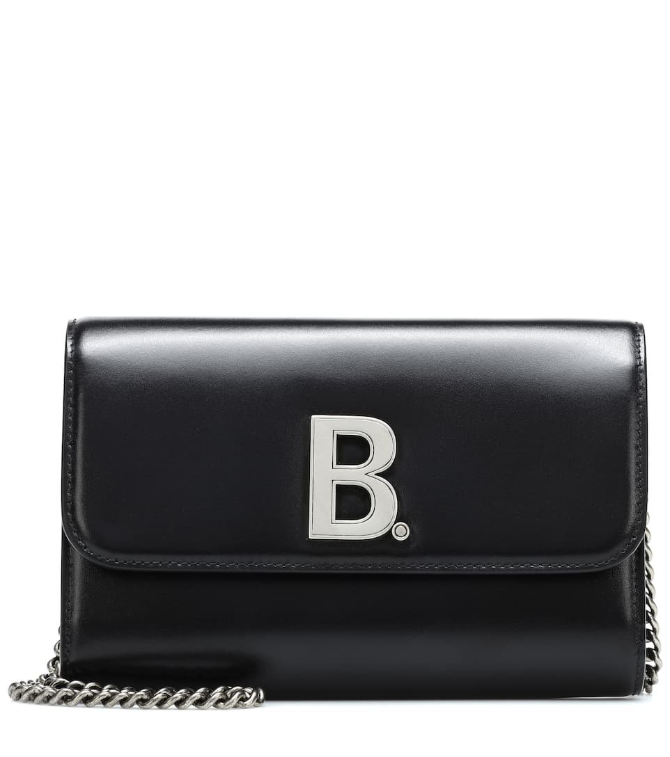 B. Leather Shoulder Bag | Balenciaga - Mytheresa