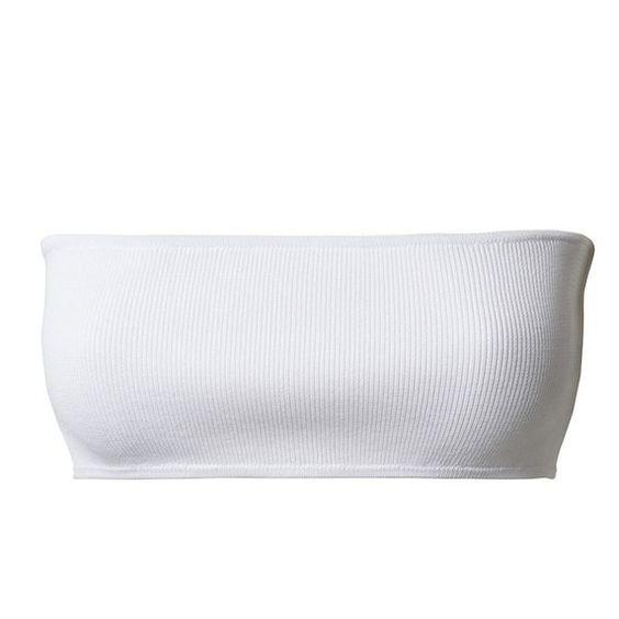 White Bandeau