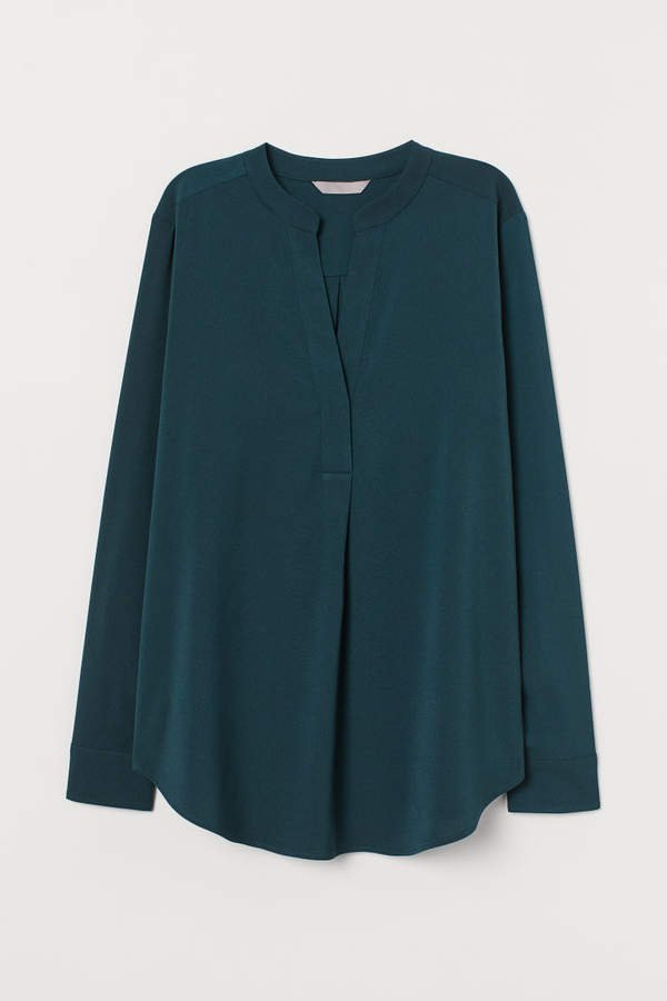 Creped Blouse - Green