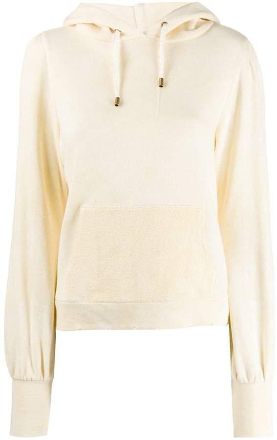 Love Shack Fancy plain hoodie