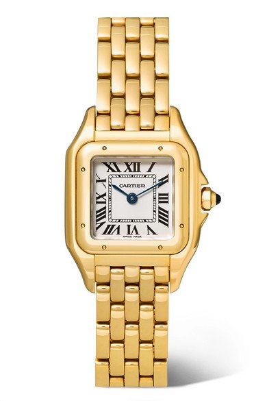 Cartier | Panthère de Cartier small 22mm 18-karat gold watch | NET-A-PORTER.COM