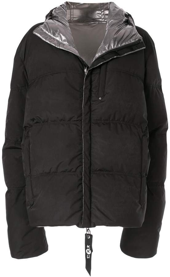 Kru reversible down puffer jacket